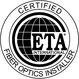 Pioneer Group Communications is an ETA Certified Fiber Optics Installer